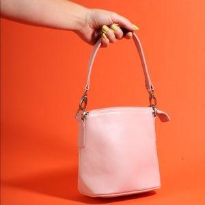 Hobo International Leather Pink Bucket Handbag